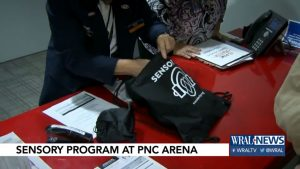 Fans 'couldn't be more thankful' for new sensory inclusive program at PNC Arena