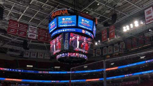 Cameron Jarvis at PNC Arena